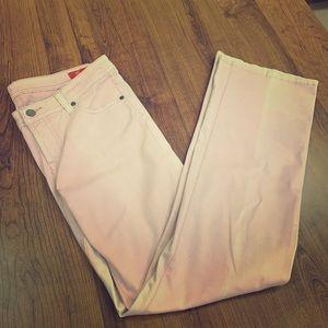 Seven7 acid wash pink jeans